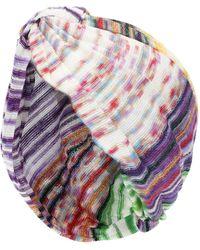 Missoni Chevron-knit Turban - Multicolour