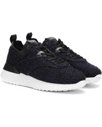Tod's Exclusive To Mytheresa – Bouclé Trainers - Blue