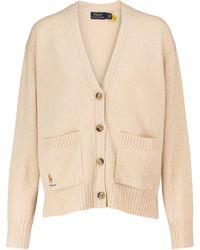Polo Ralph Lauren Cardigan aus Wolle und Kaschmir - Weiß