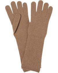 Max Mara Handschuhe Oglio aus Kaschmir - Natur