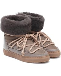Inuikii Classic Suede And Leather Boots - Multicolour