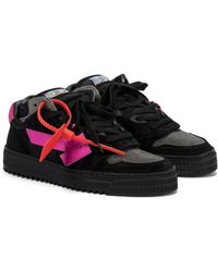 Off-White c/o Virgil Abloh Off-court 3.0 Suede Trainers - Black