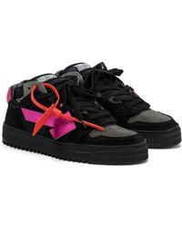 Off-White c/o Virgil Abloh Off-court 3.0 Suede Sneakers - Black