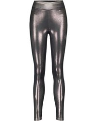 adidas By Stella McCartney Leggings aus Jersey - Mettallic