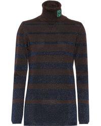 Prada Wool Turtleneck Jumper - Brown