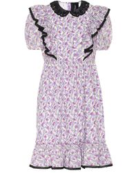 Marc Jacobs The Shirley Dress - Purple