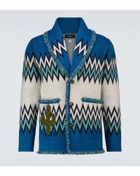 Alanui X Peanuts Authentic Western Art Cardigan - Blue