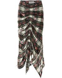 Preen By Thornton Bregazzi Madelyn Midi Skirt - Multicolor