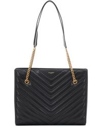 Saint Laurent - Tribeca Medium Leather Shopper - Lyst