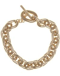 Paco Rabanne Chain Link Necklace - Metallic