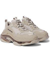 Balenciaga Sneakers Triple S - Natur