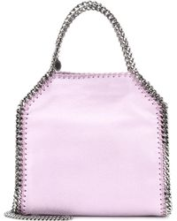 Stella McCartney | Mini Falabella Shaggy Deer Shoulder Bag | Lyst