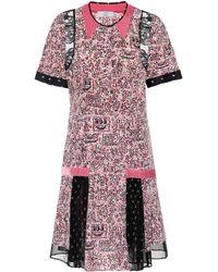 COACH - X Keith Haring Printed Silk Dress - Lyst