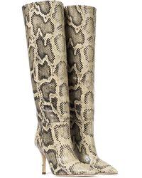 Paris Texas Stiefel aus Leder - Mehrfarbig