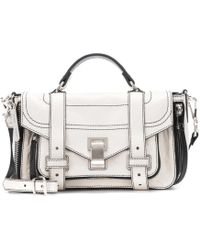 Proenza Schouler - Ps1 Tiny Leather Shoulder Bag - Lyst