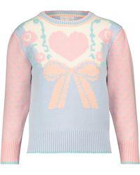 LoveShackFancy Pullover Emani - Pink