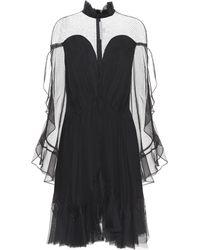 Jonathan Simkhai Silk-chiffon Dress - Black