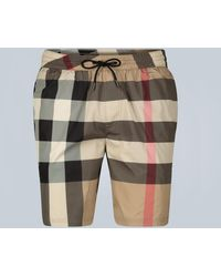 Burberry Exploded Check Swim Shorts - Multicolor