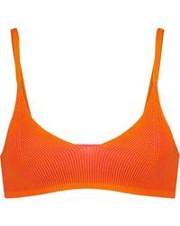Jacquemus Exclusive To Mytheresa – Le Bandeau Valensole Knit Bralette - Orange