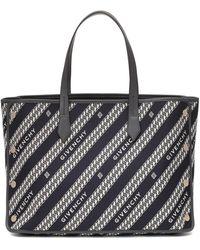 Givenchy Sac shopping bag Bond modèle moyen - Noir