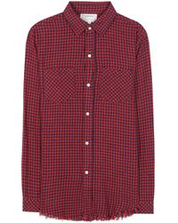 Current/Elliott - The Two Pocket Prep School Cotton Knitted Shirt - Lyst
