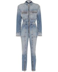 Jonathan Simkhai Mono de jeans - Azul