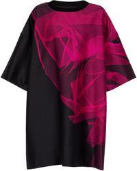 Dries Van Noten Dekko Printed Minidress - Pink