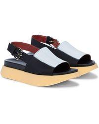 Marni - Sandales à plateforme - Lyst