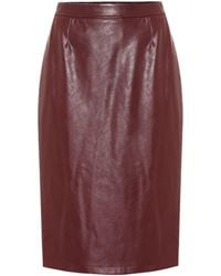 Baum und Pferdgarten Exclusive To Mytheresa – Sienna Faux Leather Pencil Skirt - Multicolour