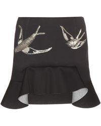 Marni - Embellished Neoprene Miniskirt - Lyst