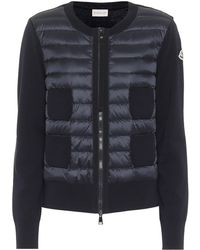 Moncler Quilted Down Jacket - Blue