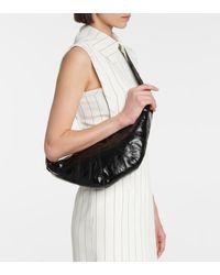 Lemaire Croissant Small Shoulder Bag - Black