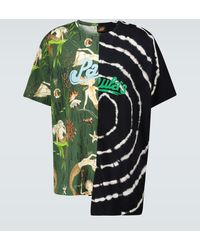 Loewe Paula's Ibiza - T-shirt asimmetrica - Verde