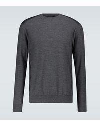 Canada Goose Jersey de lana merino - Gris