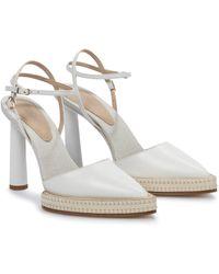 Jacquemus Les Chaussures Novio Leather Pumps - White