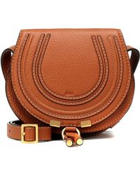 153e2ee237 Chloé - Marcie Small Leather Shoulder Bag - Lyst