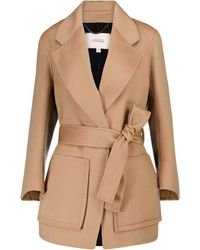 Dorothee Schumacher Exciting Volumes Wool-blend Coat - Natural