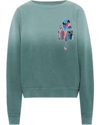 Isabel Marant Belem Cotton-blend Sweatshirt - Green