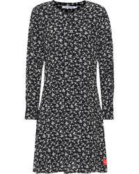 Calvin Klein Bedrucktes Kleid - Schwarz