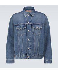 Acne Studios Robin Denim Jacket - Blue