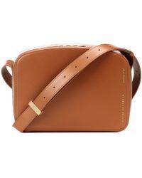 Victoria Beckham - Vanity Camera Leather Shoulder Bag - Lyst
