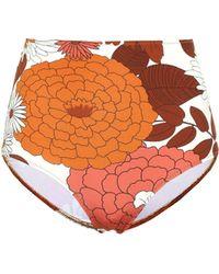Dodo Bar Or Floral Bikini Bottoms - Multicolour