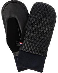 Fusalp Athena Leather Mittens - Black