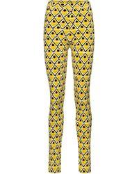 Moncler Genius 3 MONCLER GRENOBLE leggings - Amarillo