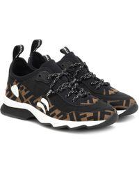 Fendi - 'FF' Sneakers - Lyst