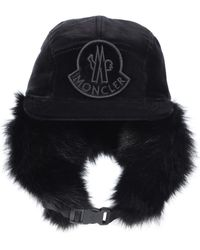 efbd64e5 UGG Shearling Fur Trapper Hat in Brown - Lyst