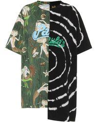 Loewe Paula's Ibiza Printed Cotton T-shirt - Green