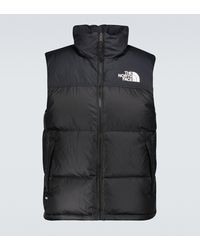 The North Face Weste 1996 Retro Nuptse - Schwarz