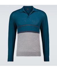 Sease Lasca 2.0 Long-sleeved Polo - Blue