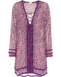 Poupette - Bibi Cotton Tunic Dress - Lyst